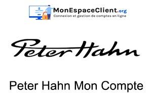 Peter Hahn Mon Compte et suivi de commande