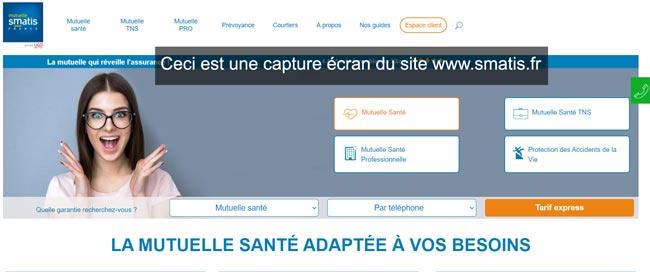 se connecter à mon compte sur le site smatis.fr