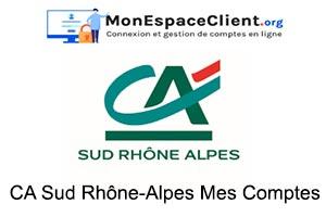 Accès aux Comptes en ligne Crédit Agricole Sud Rhône Alpes