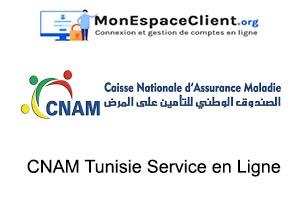 CNAM Tunisie Service en Ligne