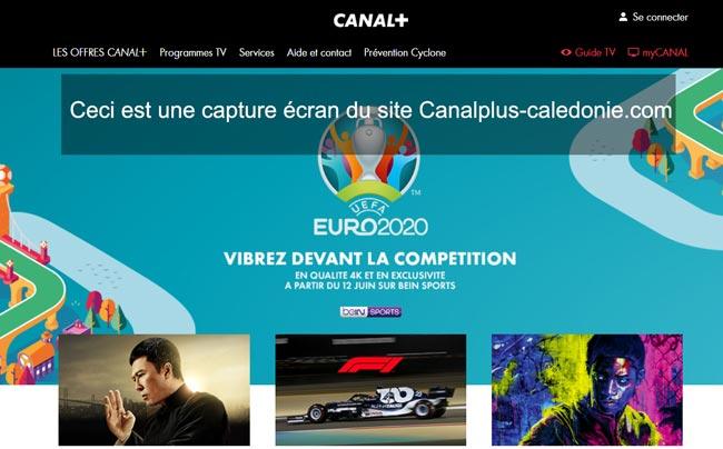 www.canalplus-caledonie.com/nc : accès à mon espace abonnés