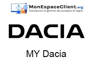 connexion à MyDacia mon compte en ligne