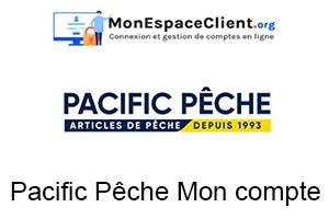 Pacific Pêche Mon compte en ligne