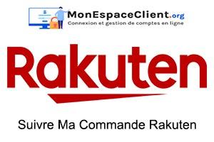 Suivre ma Ma Commande Rakuten.com