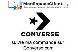 suivre ma commande sur Converse.com