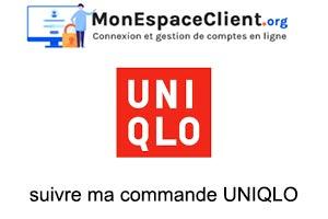 suivre ma commande UNIQLO en ligne