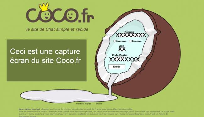 Coco Chat Contact, Inscription et Connexion