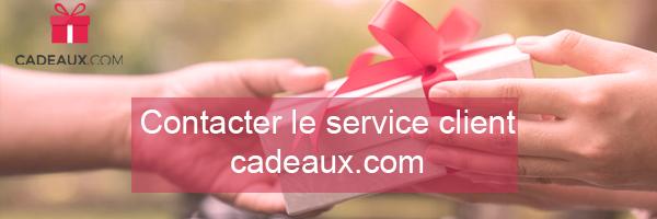 cadeaux.com contacter le service client