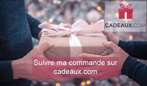 cadeaux.com faire le suivi de commande