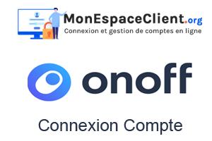 Connexion compte Onoff